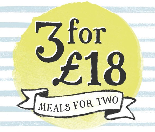 3 for £18