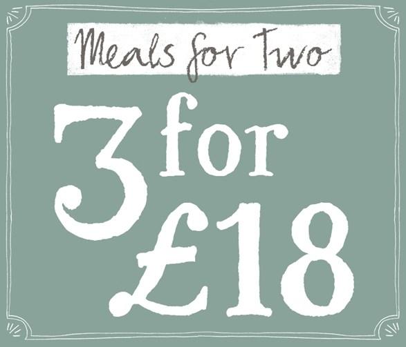 Meals for 2 Offer