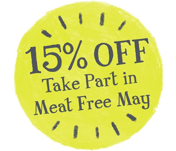 15% OFF VEGGIE MEALS