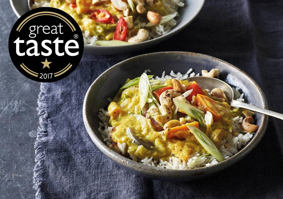 AWARD-WINNING YELLOW THAI VEGETABLE CURRY