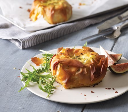 Goat's Cheese and Butternut Filo