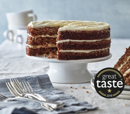 Triple Layered Carrot Cake