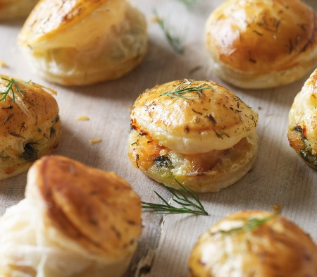 Little Salmon Wellingtons