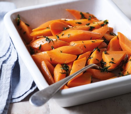 Honey-glazed Carrots with Thyme