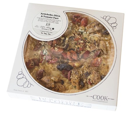 Artichoke, Olive & Tomato Tart