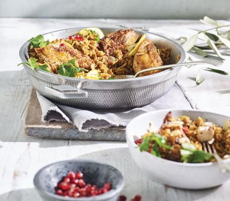 Persian Chicken Pilaf