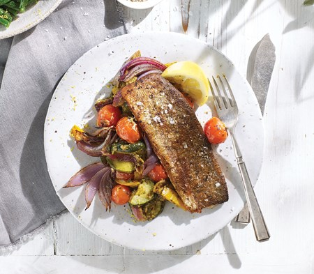 Rainbow Trout with Salsa Verde