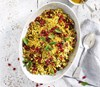 Moroccan Fruity Couscous with a Honey and Ginger Dressing