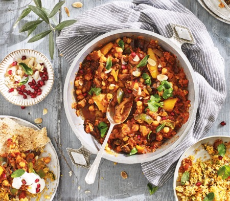 Vegetable & Chickpea Tagine