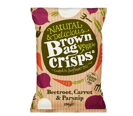 Beetroot, Carrot & Parsnip Crisps