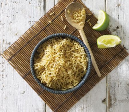 Coconut Lime Leaf Rice