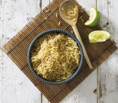 Coconut and Lime Leaf Rice