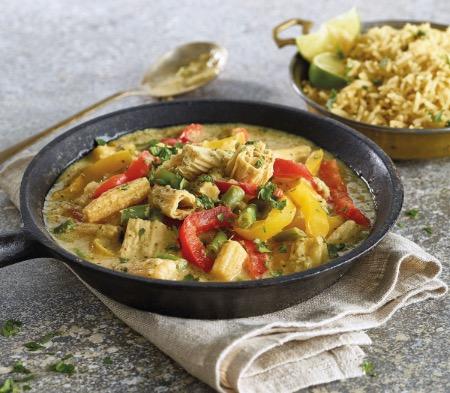 Green Thai Vegetable Curry