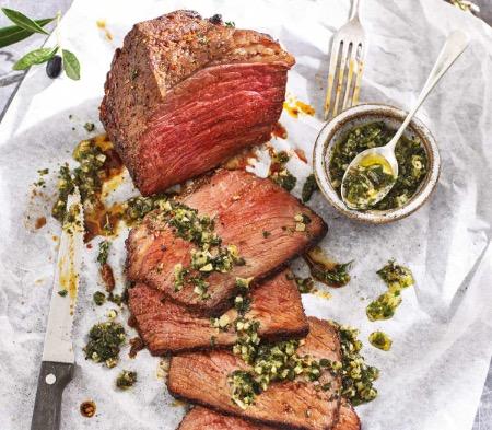 Beef Rump with Chimichurri