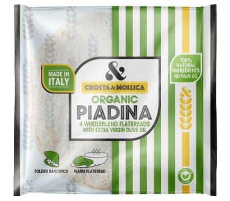 Organic Piadina Wholeblend Flatbread