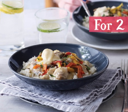 3 Meals for Two for £20 - Chicken