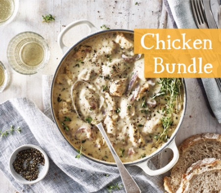 4 Meals for 1 for £14 - Chicken