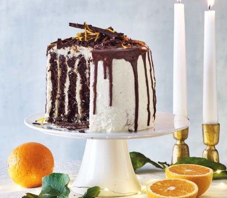 Chocolate & Orange Tower
