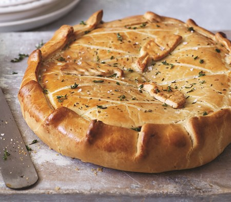 Chicken Ham And Leek Pie Chicken Ham And Leek Pie