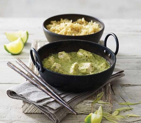 Green Thai Chicken Curry