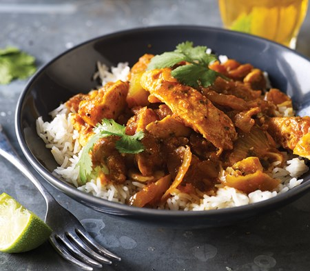 Garlic Chicken Curry