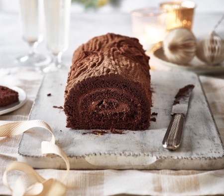 Belgian Chocolate Yule Log