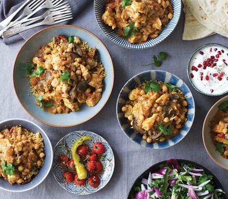 Moroccan Spiced Harissa Chicken