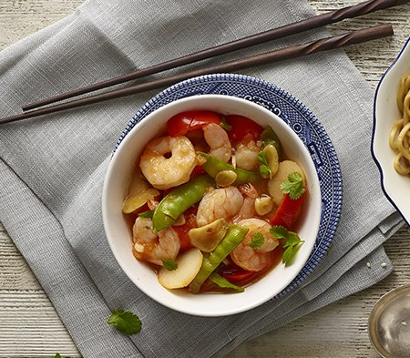 Sweet Chilli & Garlic Prawns