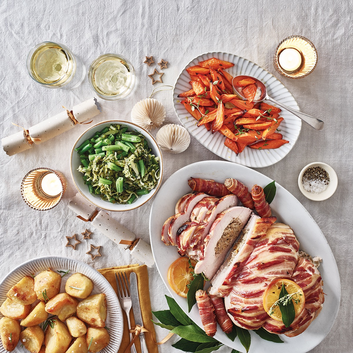Build Your Own Christmas Lunch