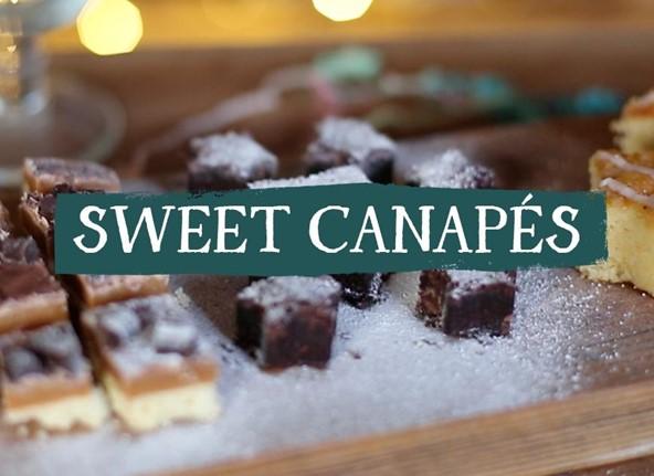 Sweet Canapés
