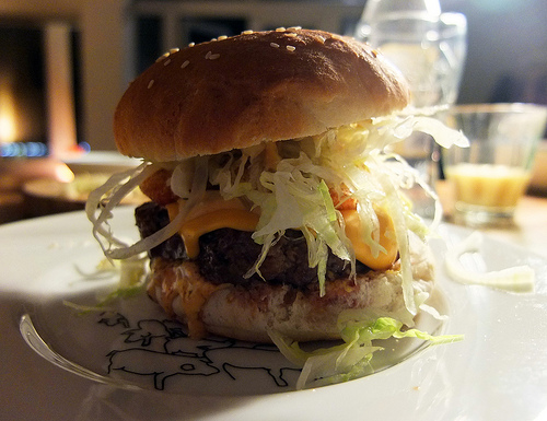 'The Burger of Shame' from Helen Graves' Food Stories